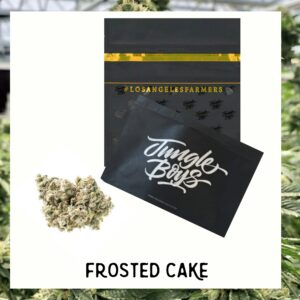 frosted cakes strain