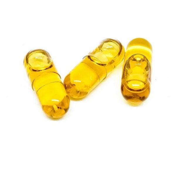 THC Hemp Seed Oil Capsules ZA 25mg (CO2)