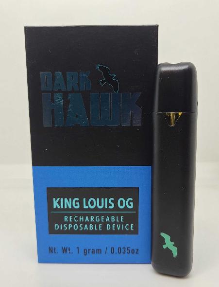 Dark Hawk King Louis OG Disposables